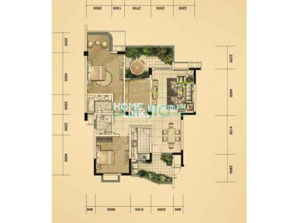 元 户型: 3室2厅 朝向: 南 楼层: 中楼层(共11层) 小区: 上东阳光三期