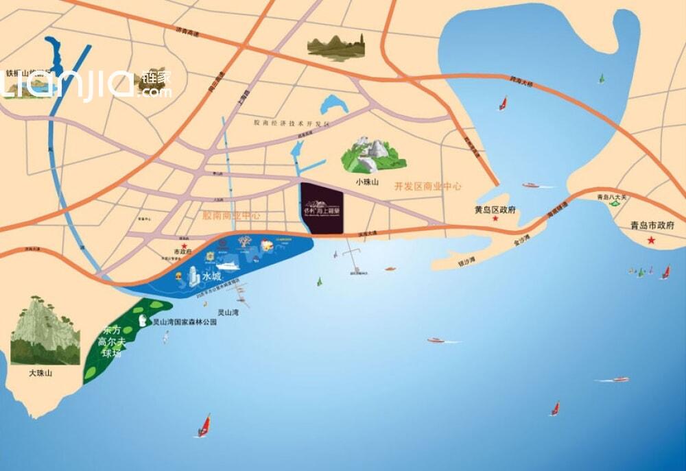 保利海上罗兰-链家网青岛站