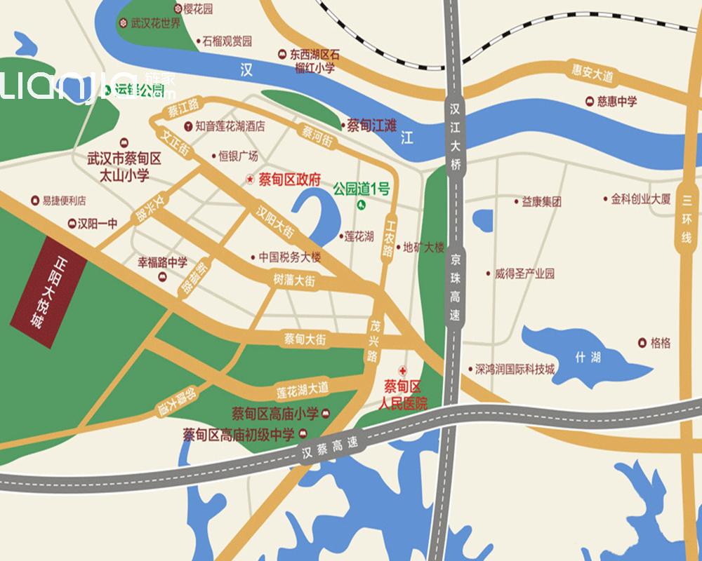 正阳县各乡镇地图
